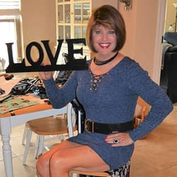How About Some Love In A Blue Bodycon Dress!