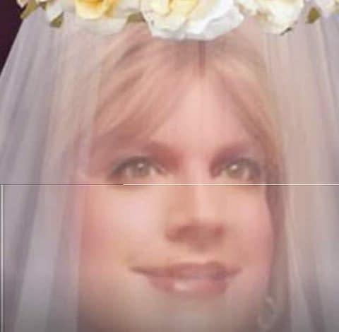 As a bride