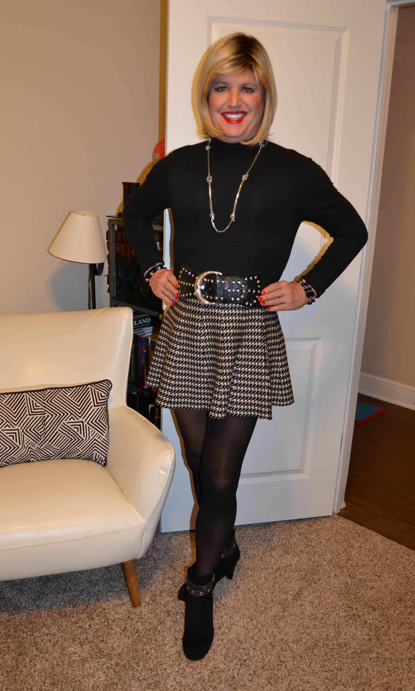 Wool Skater Skirts Are My Thing!