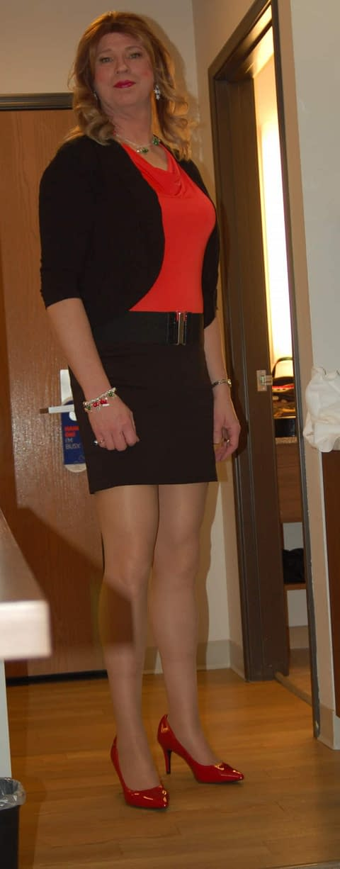 Christmas Red Shoes