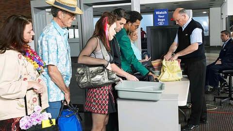 TSA information on air travel while CD/TG