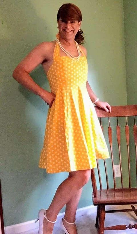 Yellow Polka Dot – In My Glory!