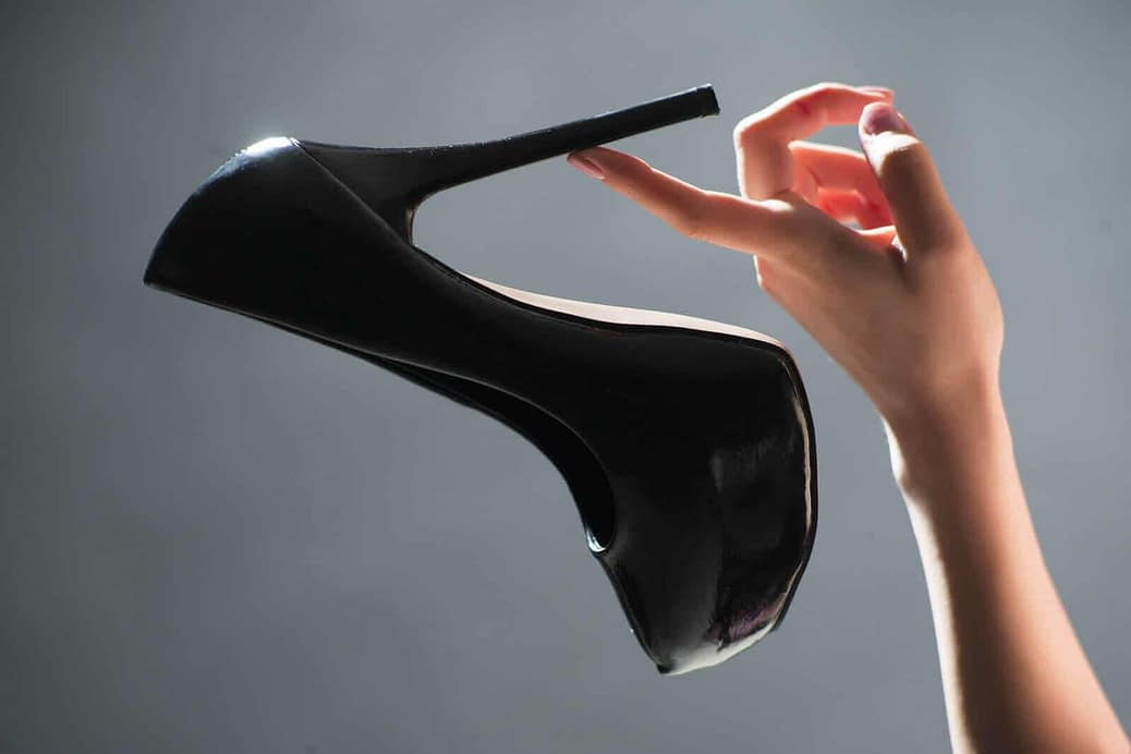 Finding the perfect pair of high heels