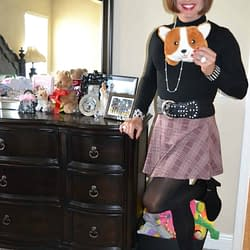I Love Fall, Skater Skirts, and Corgi Nation!