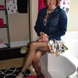 For Cuteness, Pair A Jean Jacket With A Short Dress!