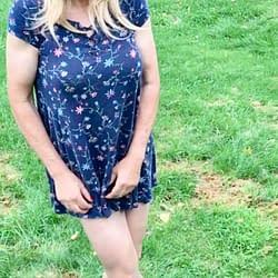 Dress with pantyhose