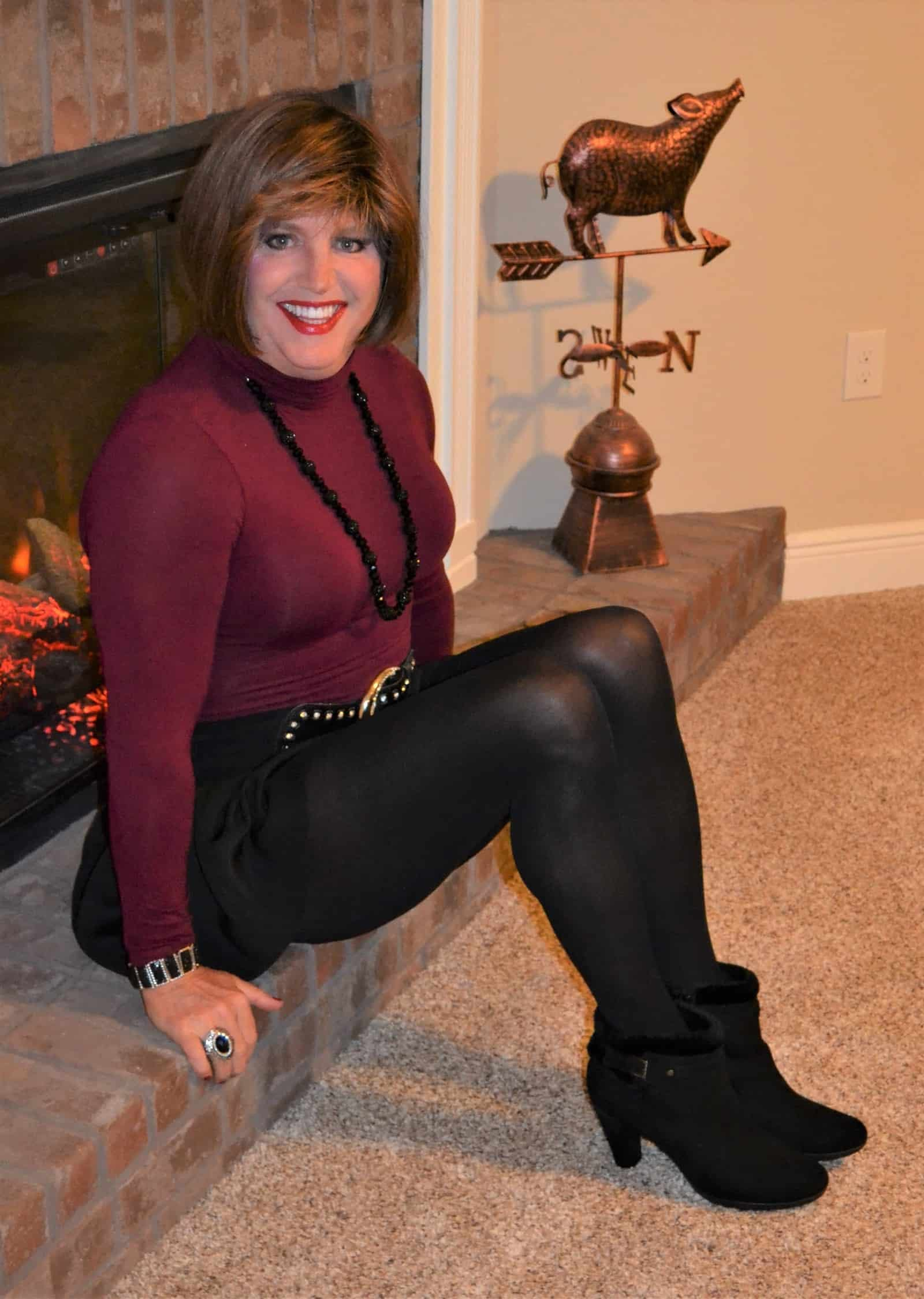 If You Like Black Opaque Tights…..
