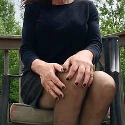 Skirt with pantyhose