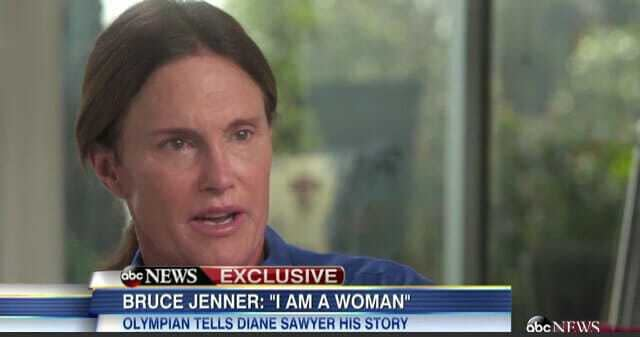 Bruce Jenner transitions to a woman