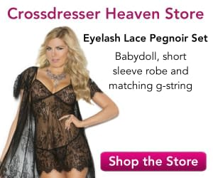 Eyelash Lace Pegnoir Set