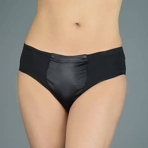 Max Smooth Everyday Briefer Gaff In Black