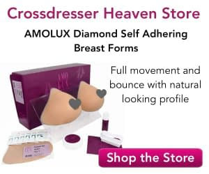 AMOLUX Diamond Self Adhering Breast Forms