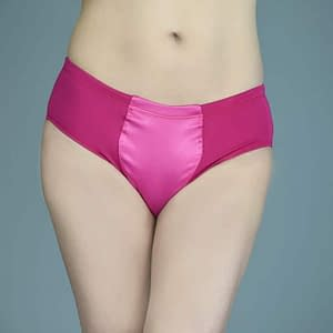 Max Smooth Everyday Briefer Gaff In Hot Pink
