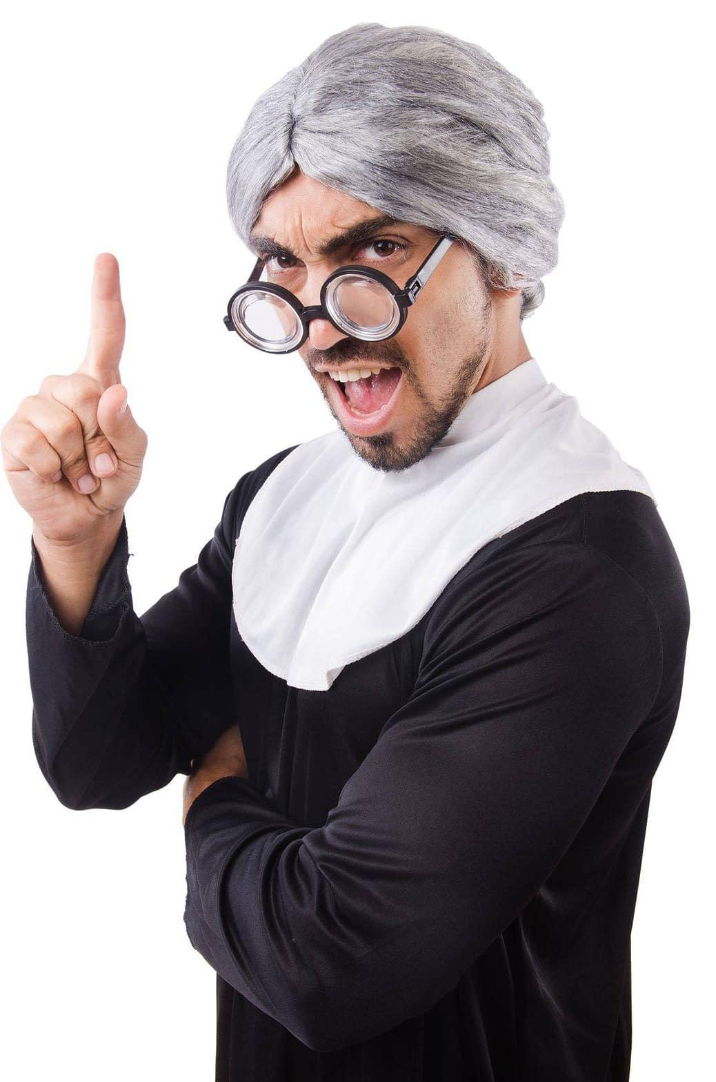 Cross-dresser Nun