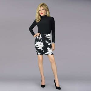 Exclusive Bodycon Floral Print Dress