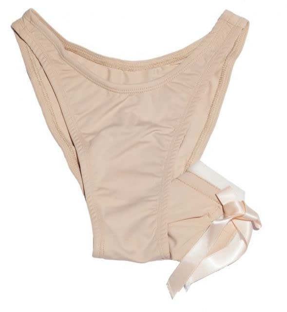 Nude Beige Gaff With Hiding Tube - Front