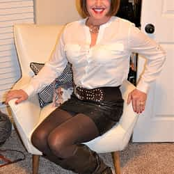 2019 Faves! My Favorite Leather Mini Skirt!