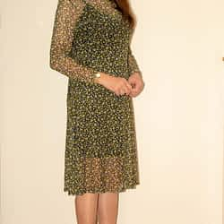Daisy Mesh Dress