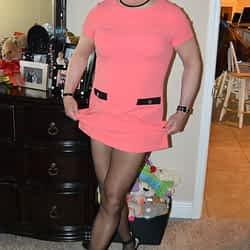 Love raising the hem on these Tommy Hilfiger dresses!