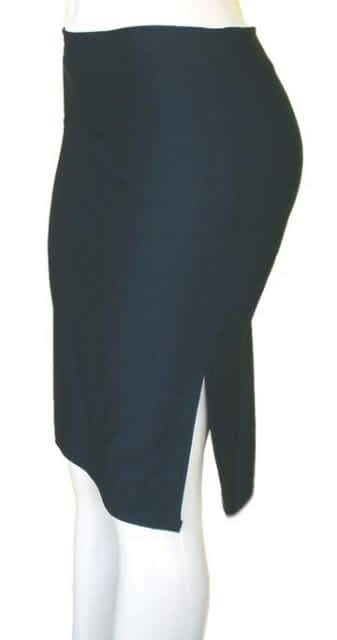Long Lycra Skirt With Slits