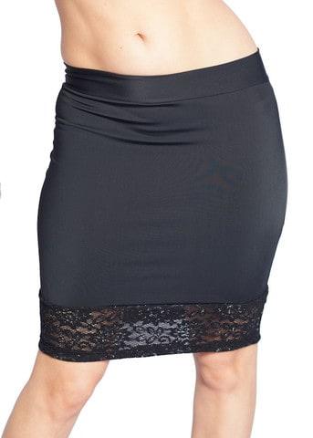 Black Lace Bottom Skirt