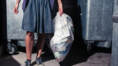 Crossdresser purging their clothes