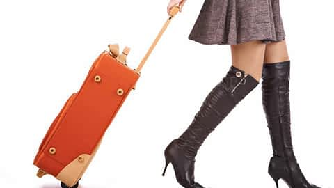 Crossdressing while travelling