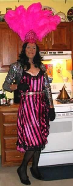Anita's Halloween Crossdressing Adventure