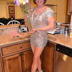 I'm Wearing My Wife's Shortest Dress!