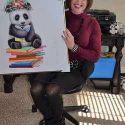Panda Picture For Our Study!