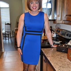 I Never Thought Royal Blue Would Look Good On Me!