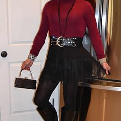 I Love Fall, Knee High Boots, And Black Tights!