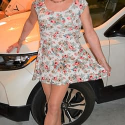 The Jury Really Loved This Floral Dress As Well!