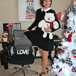 Just Huggin' One Of My Teddy Bears!