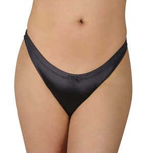 Slingshot Comfort Gaff In Black Satin