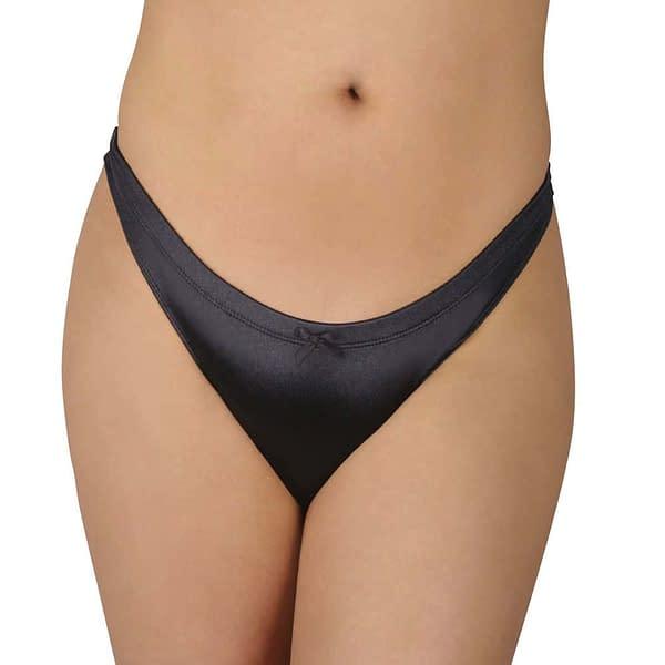 Slingshot Comfort Gaff In Black Satin