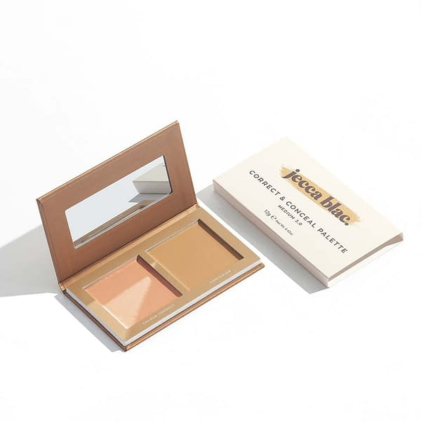 Correct & Conceal Palette (Beard Shadow and All Over Base Cover)