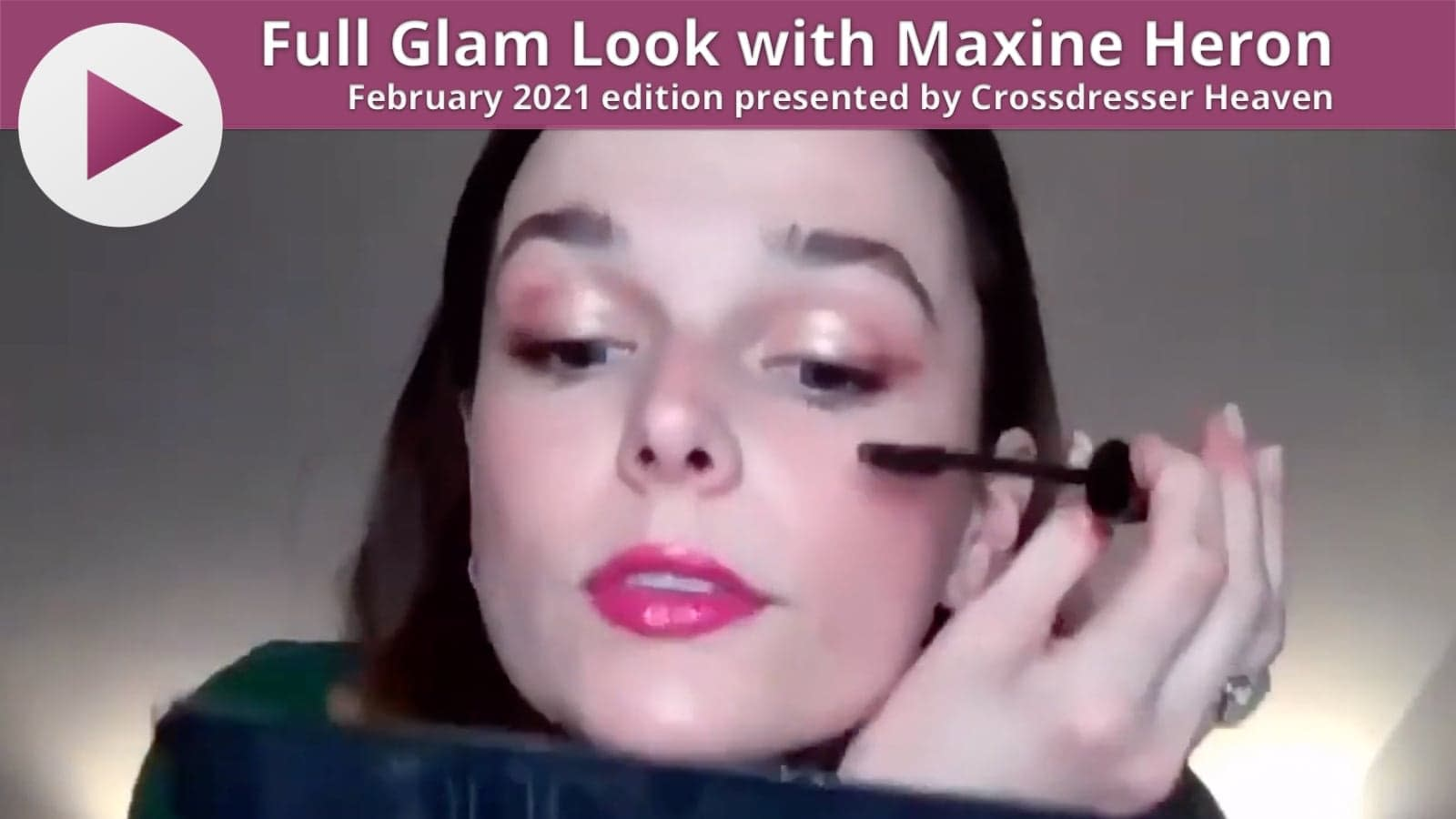 Full Glam Look with Maxine Heron