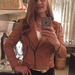 New Brown Leather Jacket