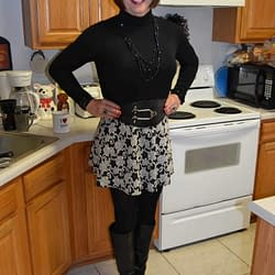 I Just Love Skater Skirts And Boots!