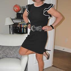 New Tommy Hilfiger Flutter Sleeved Dress
