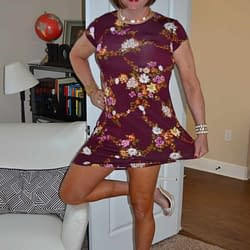 Scarlett Loves Floral Dresses and Extra High Heels!