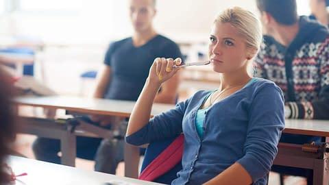 Discover crossdresser in classroom