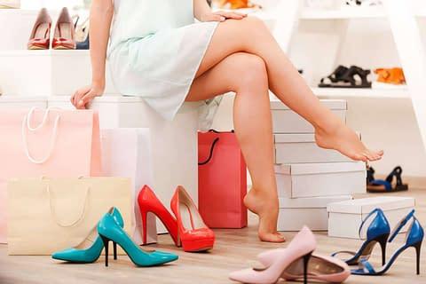 A massive shoe sale