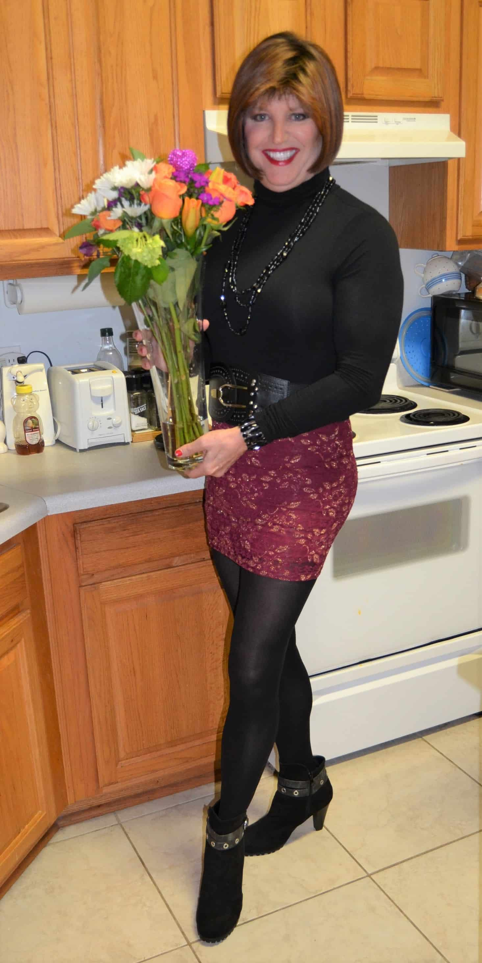 Yep, My Sweetie Gets Me Flowers On Valentines Day!