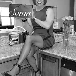 Scarlett loves sexy Soma panties!