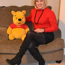 Just Me And Winnie The Poo!