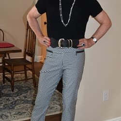 Scarlett's Second Try With High Waisted Skinny Slacks!