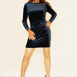 Blue Sparkle dress
