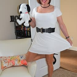 Hey, Snoopy Almost Has On The Same Outfit I'm Wearing!